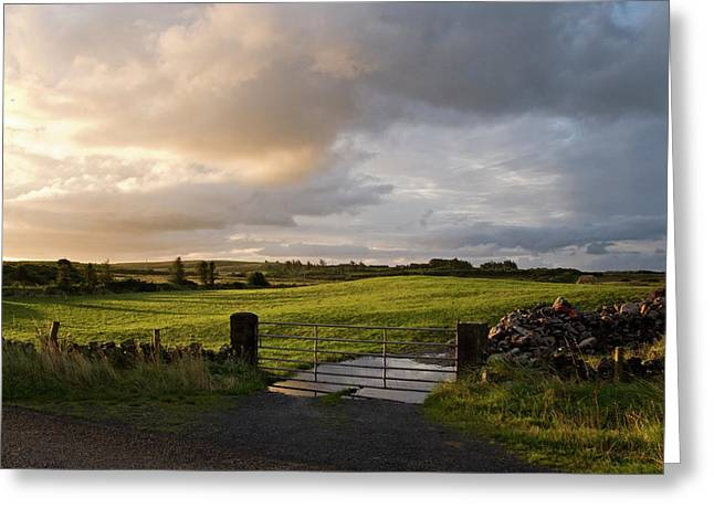 County Clare Greeting Cards - County Clare 3 Greeting Card by John Burnett