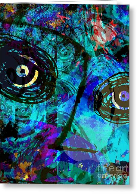 The Followers Greeting Cards - Courage - Trouble Dont Last Always Greeting Card by Fania Simon