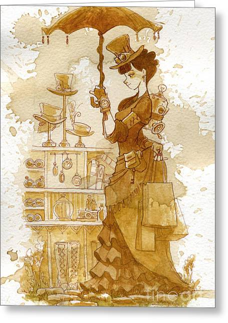 Staff Picks - Greeting Cards - Couture Greeting Card by Brian Kesinger