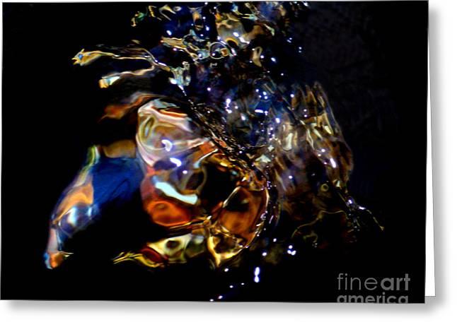 Crab Nebula Greeting Card by Terril Heilman