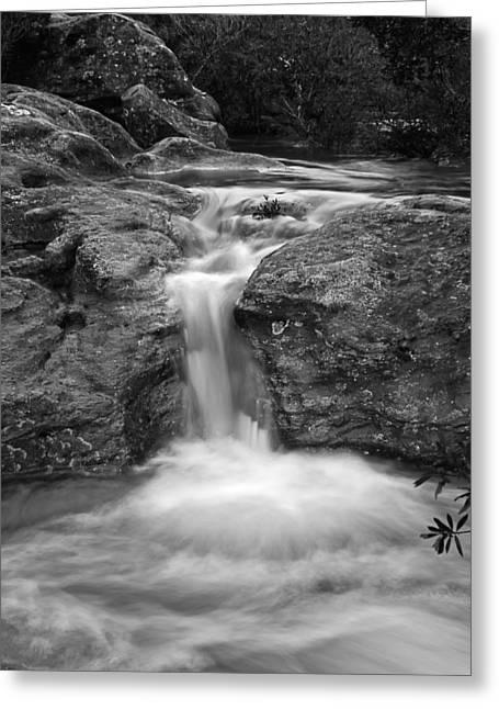 Macarthur Greeting Cards - Cracked Rock Greeting Card by Mark Lucey