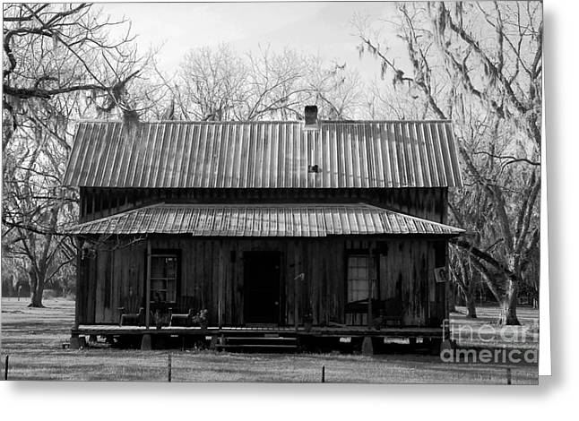 Old Cabins Greeting Cards - Cracker Cabin Greeting Card by David Lee Thompson