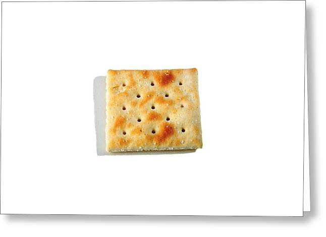 Toast Greeting Cards - Cracker Greeting Card by Michael Ledray