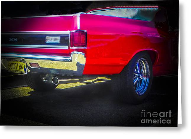 Tricked-out Cars Greeting Cards - Cragers and All Greeting Card by Chuck Re