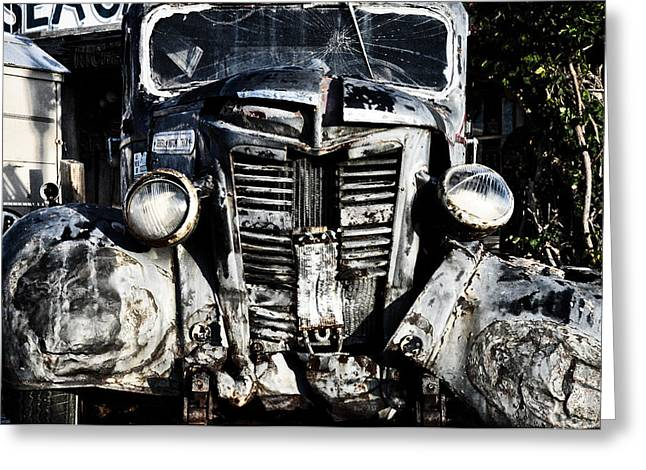 Bos Bos Digital Art Greeting Cards - Crash Greeting Card by Bill Cannon
