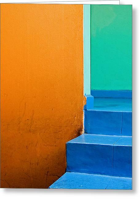 Oaxaca Greeting Cards - Creamsicle Greeting Card by Skip Hunt