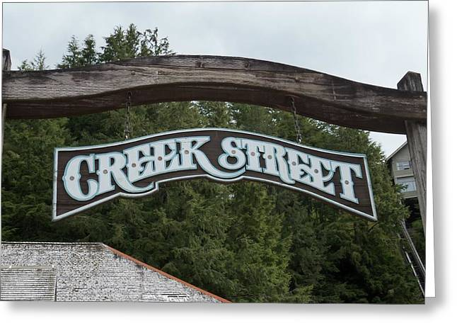 Ketchikan Greeting Cards - Creek Street 1 Greeting Card by Randall Weidner