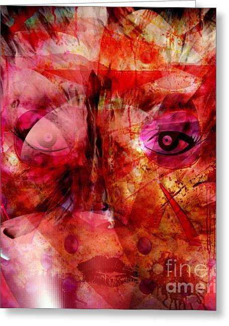 Creolization Greeting Cards - Creolite - Double Consciousness Greeting Card by Fania Simon