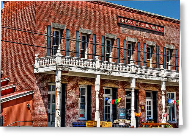 Surprise Greeting Cards - Cressler Bonner Building Greeting Card by Scott McGuire