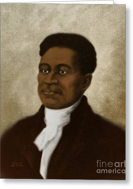 Negro Greeting Cards - Crispus Attucks, African-american War Greeting Card by Science Source