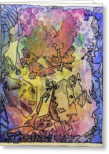 Critters Greeting Cards - Critters Greeting Card by Mimulux patricia no