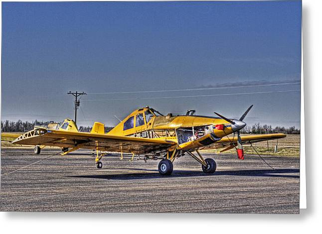 Air Tractors Greeting Cards - Crop Duster I Greeting Card by William Fields