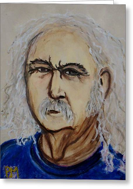 David Pastels Greeting Cards - Crosby Greeting Card by Pete Maier