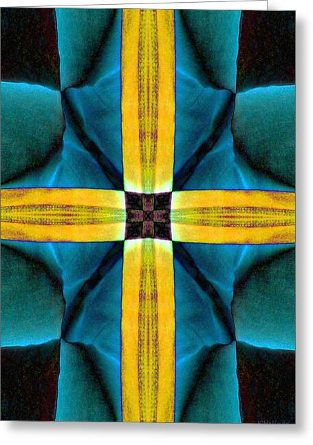 Halinar Greeting Cards - Cross One Greeting Card by Joe Halinar