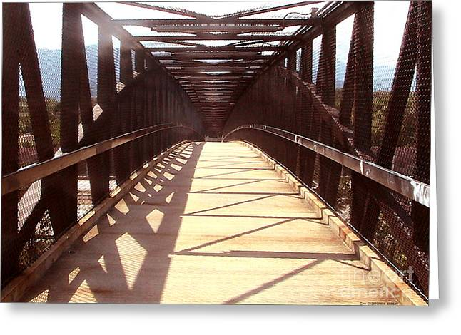 Crossing Over Greeting Cards - Crossing Over Greeting Card by Cristophers Dream Artistry