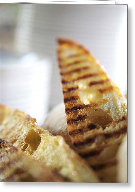 Toast Greeting Cards - Crostini Appetizer Greeting Card by Kicka Witte - Printscapes
