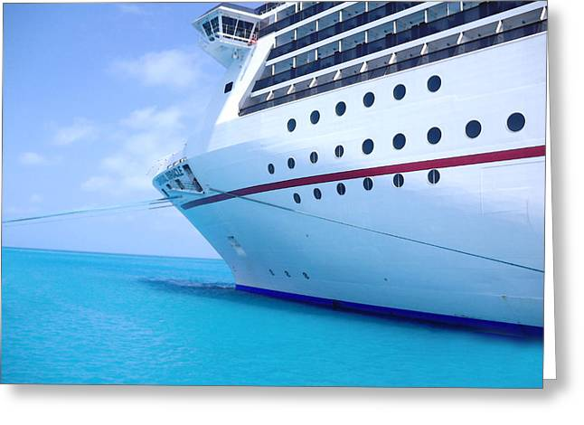 Www.eye4lifephotography.com Greeting Cards - Cruiseline Greeting Card by Alicia Morales