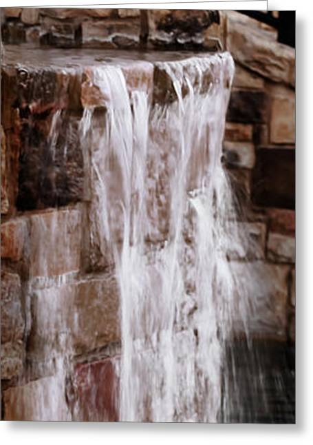 Beautiful Creek Greeting Cards - Crying waterfall Greeting Card by Kelly Rader