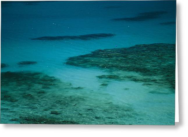 Virgin Gorda Greeting Cards - Crystal Blue Water Surrounds Virgin Greeting Card by Todd Gipstein