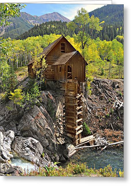 Crystal Mill 4 Greeting Card by Marty Koch