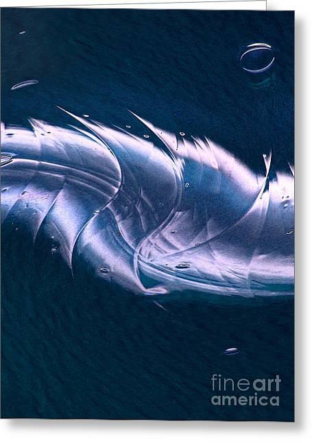 Crystalline Entity Panel 2 Greeting Card by Peter Piatt