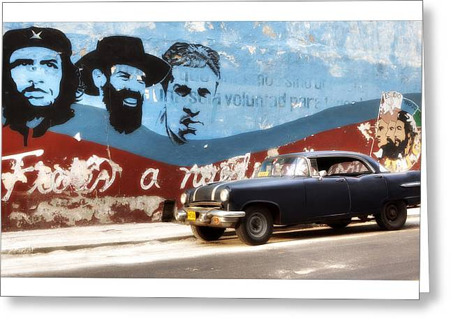 Havanna Greeting Cards - Cuba 08 Greeting Card by Marco Hietberg