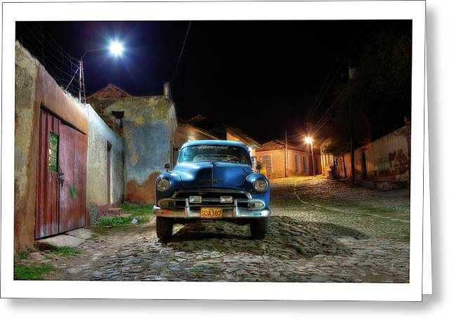 Havanna Greeting Cards - Cuba 09 Greeting Card by Marco Hietberg