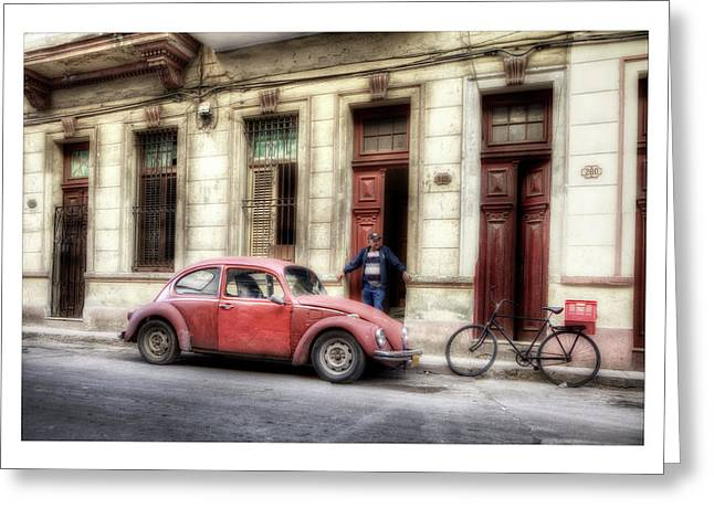 Havanna Greeting Cards - Cuba 17 Greeting Card by Marco Hietberg