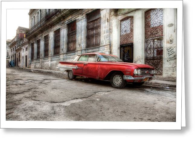 Havanna Greeting Cards - Cuba 18 Greeting Card by Marco Hietberg