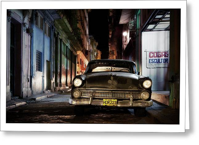 Havanna Greeting Cards - Cuba 19 Greeting Card by Marco Hietberg