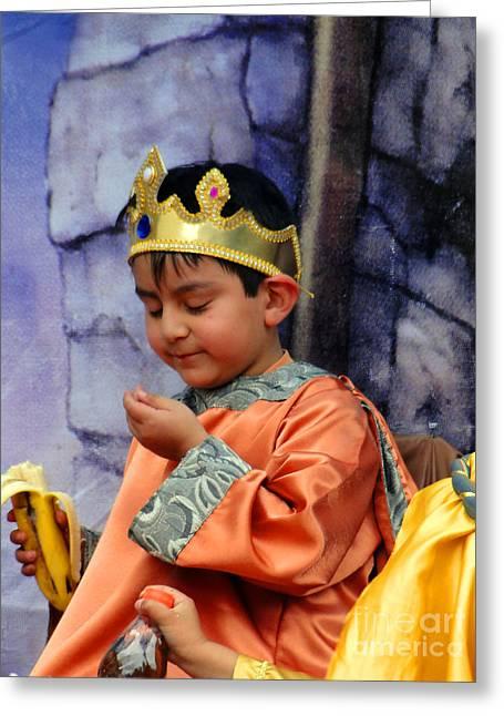 Cuenca Kids 40 Greeting Card by Al Bourassa