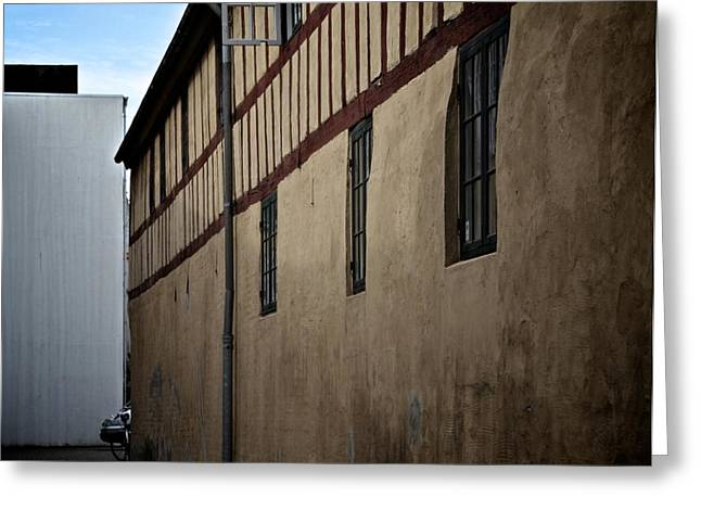 Old And New Photographs Greeting Cards - Culture Clash Greeting Card by Odd Jeppesen