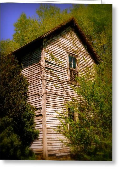 Fashion Art For House Greeting Cards - Cumberland Two Story Greeting Card by Cindy Wright