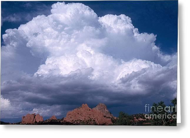 Cumulonimbus Cloud Greeting Card by Science Source
