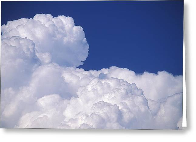 Nimbus Greeting Cards - Cumuluo Nimbus Clouds Greeting Card by Kaj R. Svensson