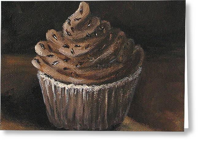 Cupcake 003 Greeting Card by Torrie Smiley