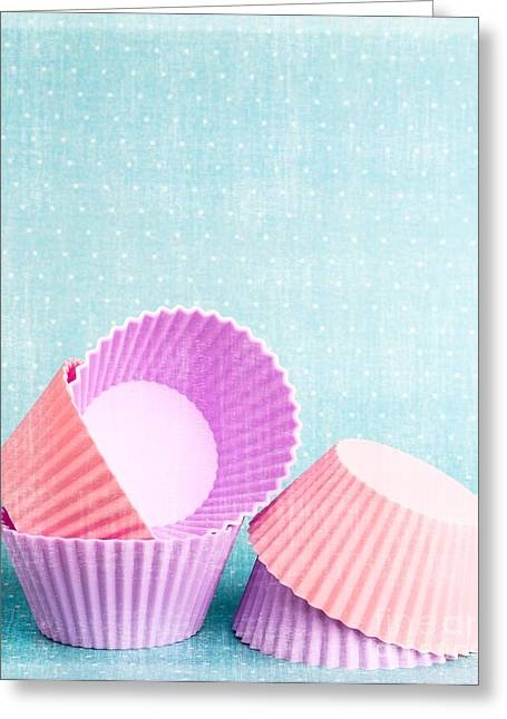 Cup Photographs Greeting Cards - Cupcake Greeting Card by Edward Fielding