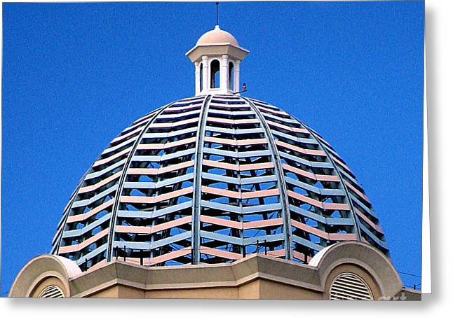 Original Art Photographs Greeting Cards - Cupola Greeting Card by Colleen Kammerer