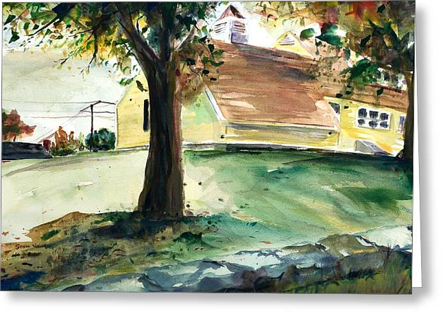 Millbury Greeting Cards - Cupola Greeting Card by Scott Nelson