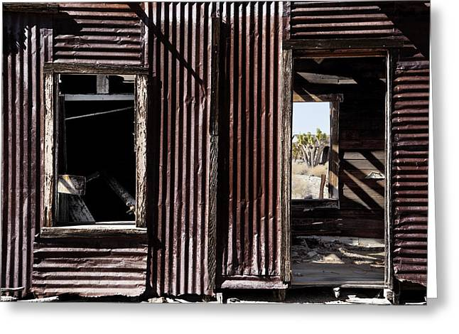 Rusty Metal Greeting Cards - Curb Appeal 2 Greeting Card by Kelley King