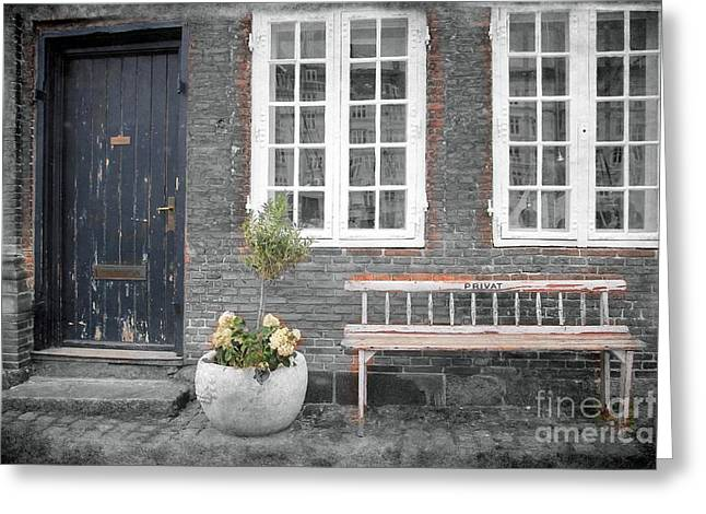 Old House Photographs Greeting Cards - Curb Appeal Greeting Card by Sophie Vigneault