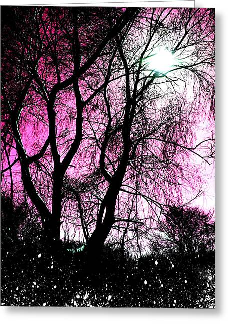 Anthony Jensen Greeting Cards - Currently Untitled  Greeting Card by Anthony Jensen
