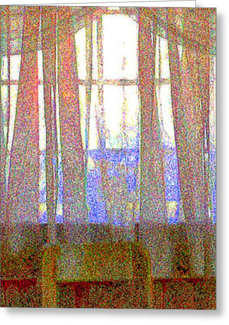 Seurat Photographs Greeting Cards - Curtain Call Greeting Card by Diane montana Jansson