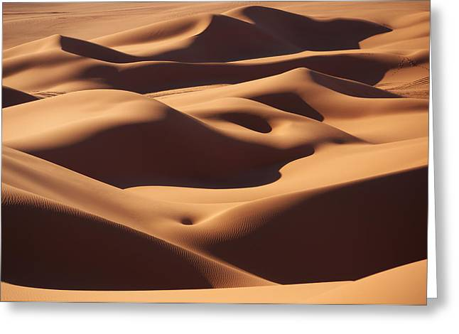 Curves Greeting Card by Ivan Slosar