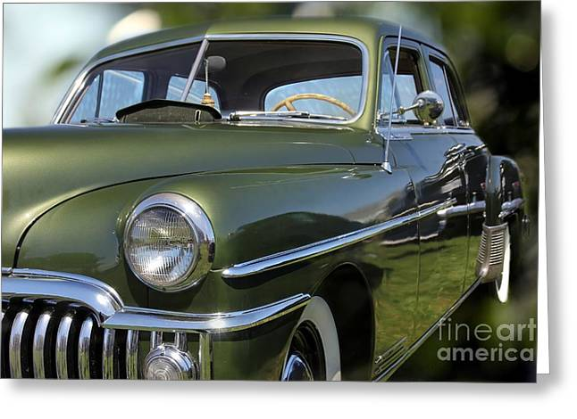 Desoto Car Greeting Cards - Custom Desoto Car Greeting Card by Sophie Vigneault