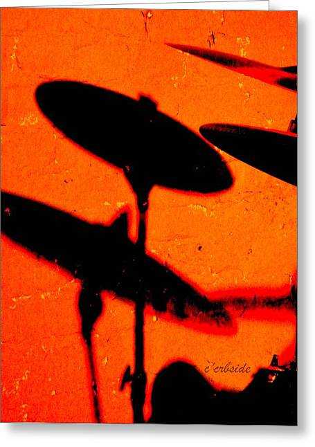 Cymbals Greeting Cards - Cymbalic Greeting Card by Chris Berry