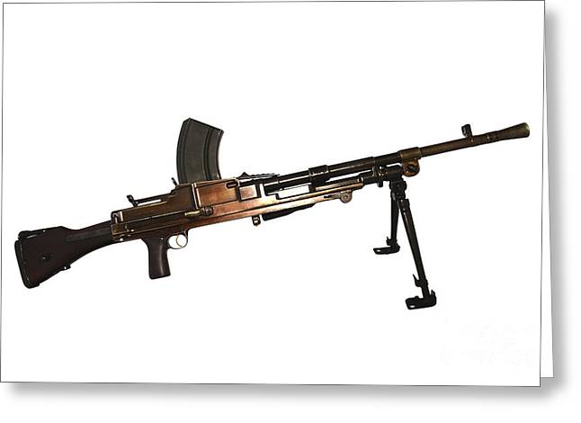 Copy Machine Greeting Cards - Czechoslovakian Lmg A Protope Greeting Card by Andrew Chittock
