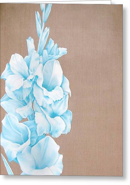 Large Scale Drawings Greeting Cards - Dads Glads Greeting Card by David  Beers