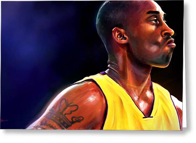 Recently Sold -  - Kobe Greeting Cards - Daggers Greeting Card by Jack Perkins