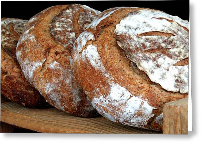 Fresh Bread Greeting Cards - DailyBread2 Greeting Card by Robert Trauth